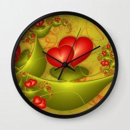Fractal Love Wall Clock
