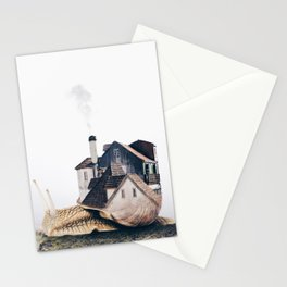 Slowly Moving Stationery Cards