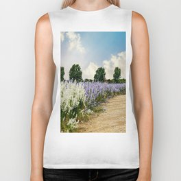 Coloured Landscape Biker Tank