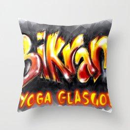 Bikram Throw Pillow