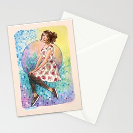 No April Showers Here Stationery Cards