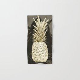 Golden Pineapple Marble Hand & Bath Towel