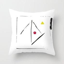 serge-pichii-abstract-00004 Throw Pillow