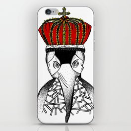 Lord Of The Penguins  iPhone Skin