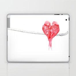 Red Heart Birds Love Laptop & iPad Skin