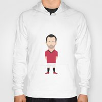 manchester Hoodies featuring Ryan Giggs - Manchester United by Georgian-Sorin Maxim
