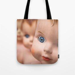 Baby Blue Eyes Tote Bag