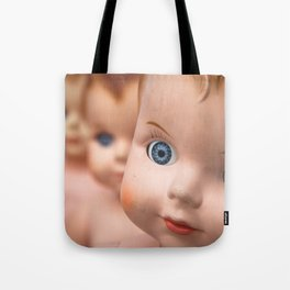 Baby Blue Eyes Tote Bag