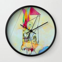 Triangulation Tower Wall Clock