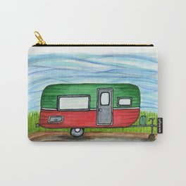 Watermelon Camper Trailer Carry-All Pouch