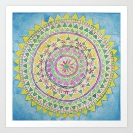 Sunshiney Art Print