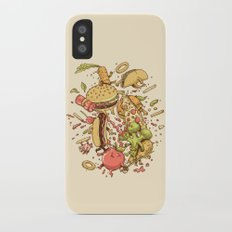 Food Fight Slim Case iPhone X