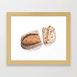 Bread Framed Art Print