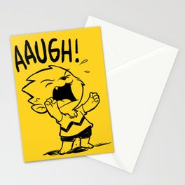 Auugh! Stationery Cards