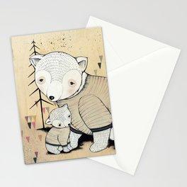 Mama Bear, Baby Bear Stationery Cards