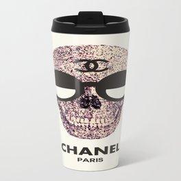 COUTURE SKULL Travel Mug