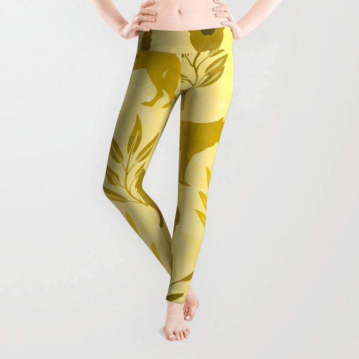 Forest Animal and Nature III Leggings