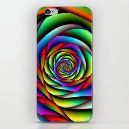 Rainbow Spiral iPhone Skin