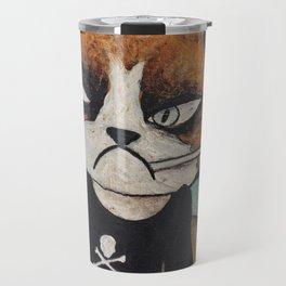 Angsty Cat Travel Mug