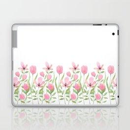 Blush pink blossom Laptop & iPad Skin