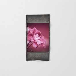 Ivy Geranium named Contessa Purple Bicolor Hand & Bath Towel