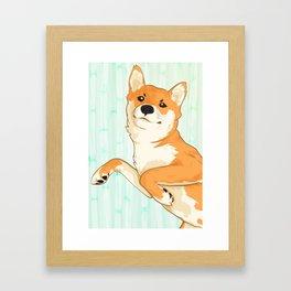 I am not a fox! Framed Art Print