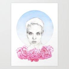 No roses, no skies. Art Print