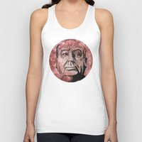 hitchcock Tank Tops featuring Hitchcock by Colunga-Art