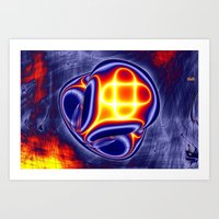 ufo Art Prints featuring ufo by donphil