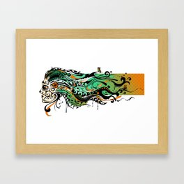 gecko Framed Art Print