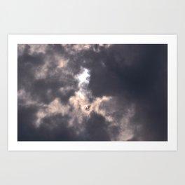 tie dye sky Art Print