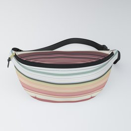 Sandwich cookie stripes Fanny Pack
