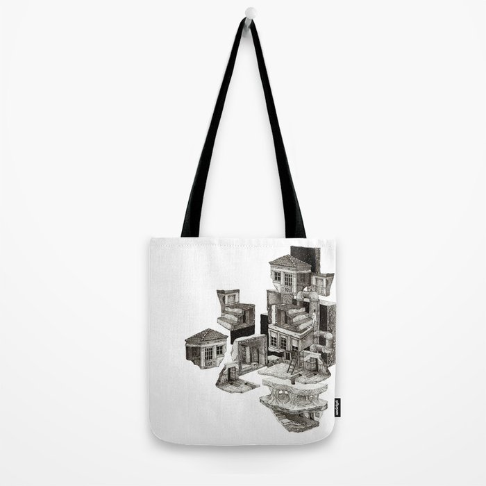 house fragment Tote Bag