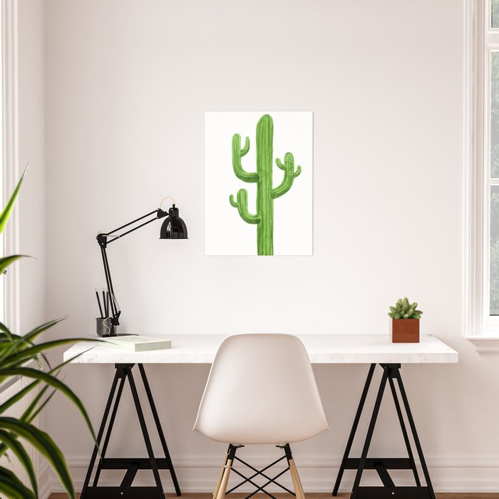 Cactus One Poster