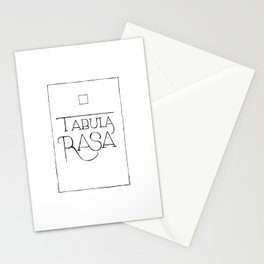 Tabula Rasa Stationery Cards