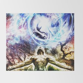 I am a Son of Earth and Starry Heaven Throw Blanket