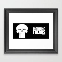 MORNING FREAKS Framed Art Print