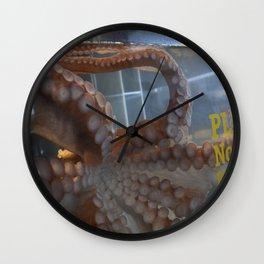 Suction  Wall Clock