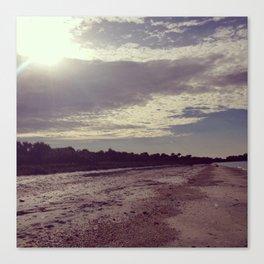 life is an endless beach  Canvas Print
