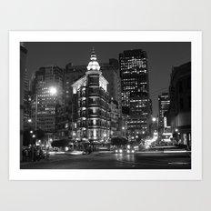 The Streets of San Fransisco  Art Print