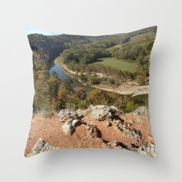 Sparrowhawk Mountain Series, No. 8 Throw Pillow