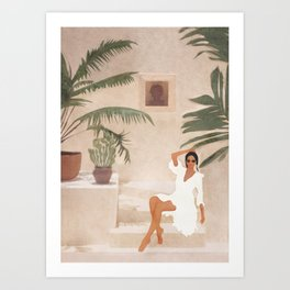 Graceful Resting II Art Print