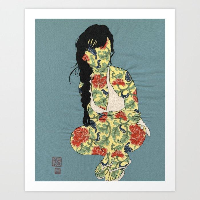 GIRL02 Kunstdrucke