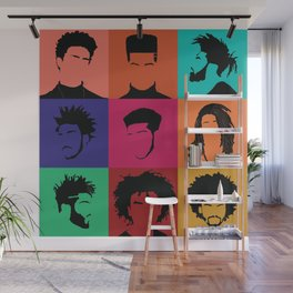 FOR COLORED BOYS COLLECTION COLLAGE Wall Mural