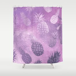 Ananas Fruit Pattern 3 Shower Curtain