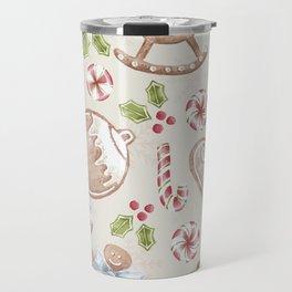 Gingerbread Travel Mug