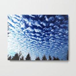 wave clouds Metal Print