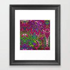 Love2Snap Flower Framed Art Print