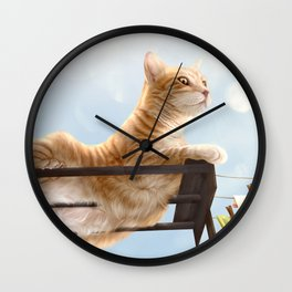 My Neighbour's Cat Wall Clock