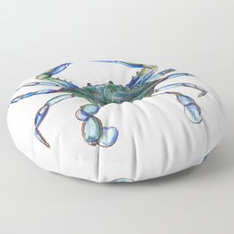 Maryland Crab Floor Pillow